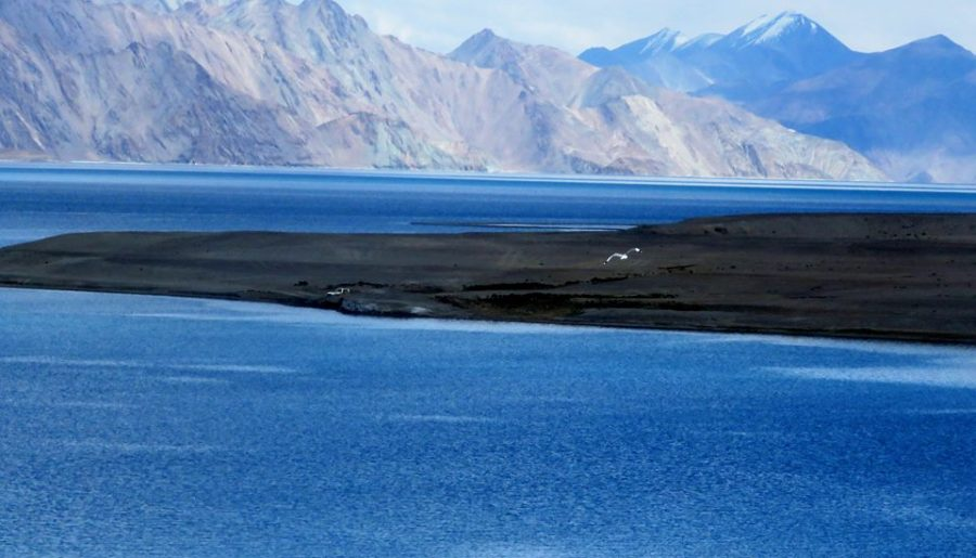 The Road to Pangong