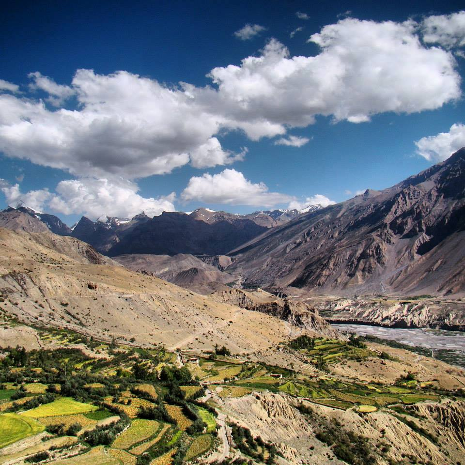 Nako, Tabo, Dhankar, Kaza, Spiti Valley, Himachal Pradesh