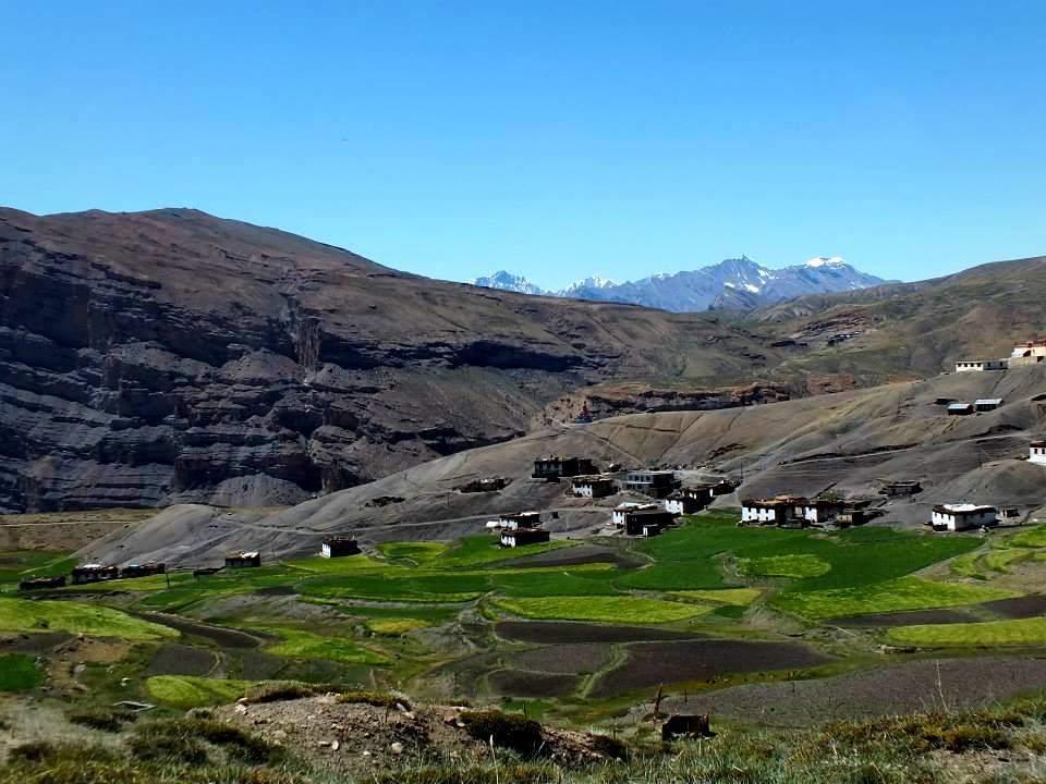 Kibber Village, Kaza, Spiti Valley, Himachal Pradesh