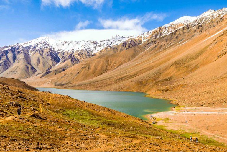 Chandratal, Moonlake, Kaza, Batal, Spiti, Himachal Pradesh