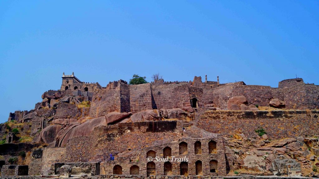 Golconda Fort, Hyderabad, Monuments